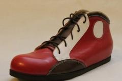 Sneaker in Rotorange