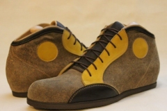 leichter Sneaker aus Hirschleder
